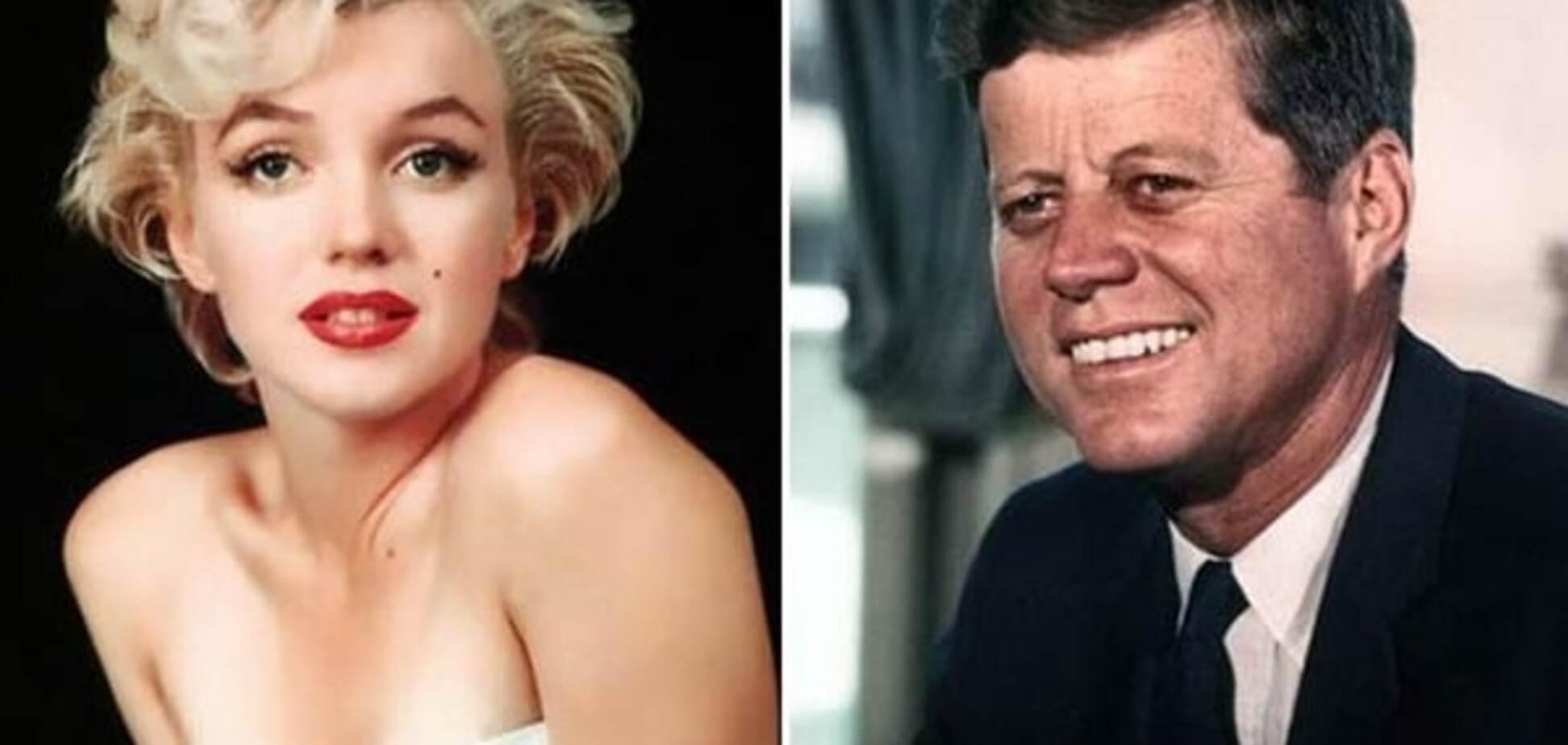 Мэрилин Монро и Джон Кеннеди