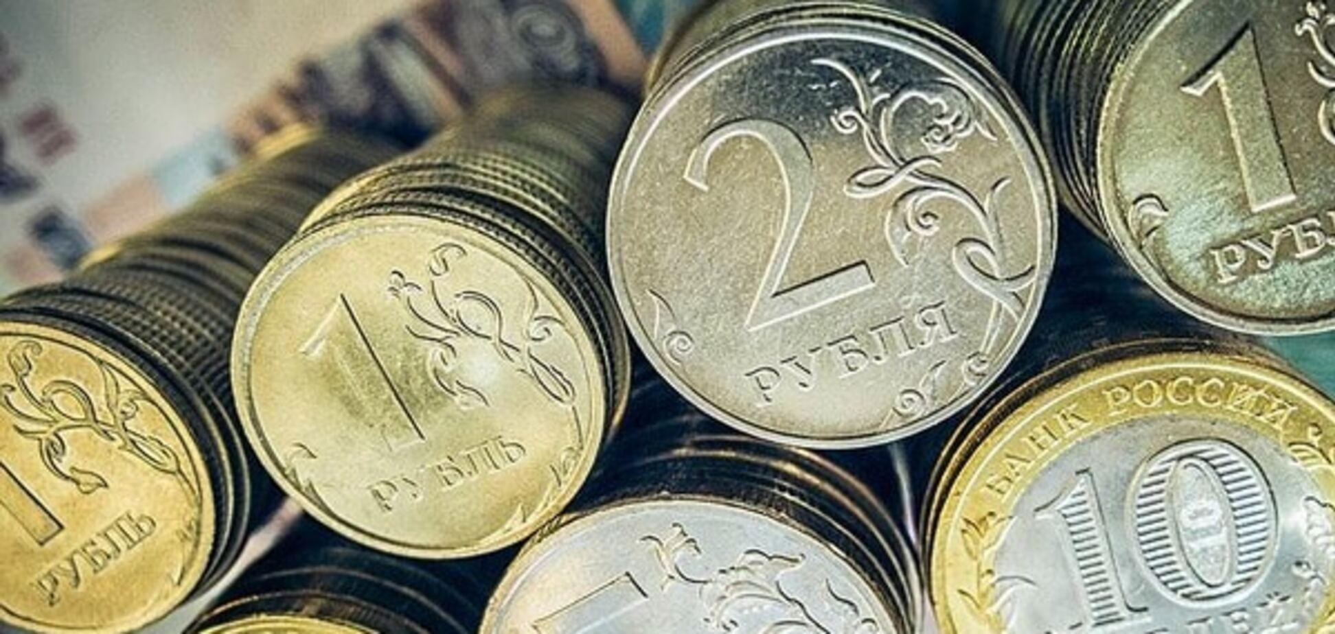 Падіння рубля в Росії