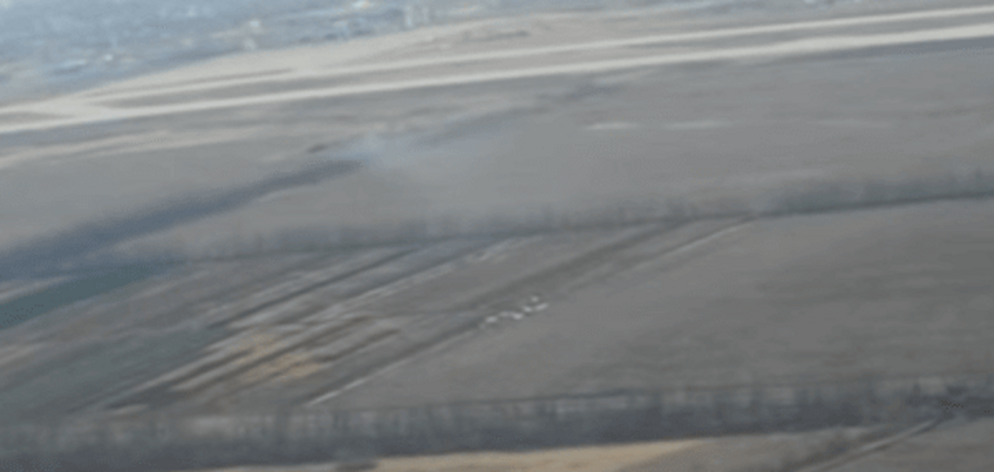 Ликвидация позиций террористов возле донецкого аэропорта украинской аэроразведкой