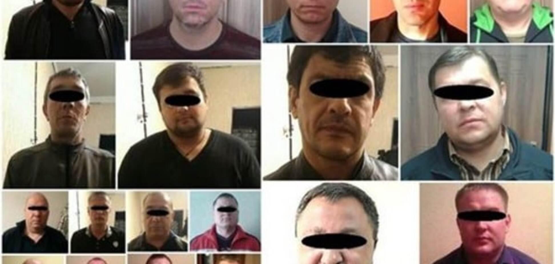 У Дніпропетровську на 'зустрічі' затримали 12 'злодіїв у законі'