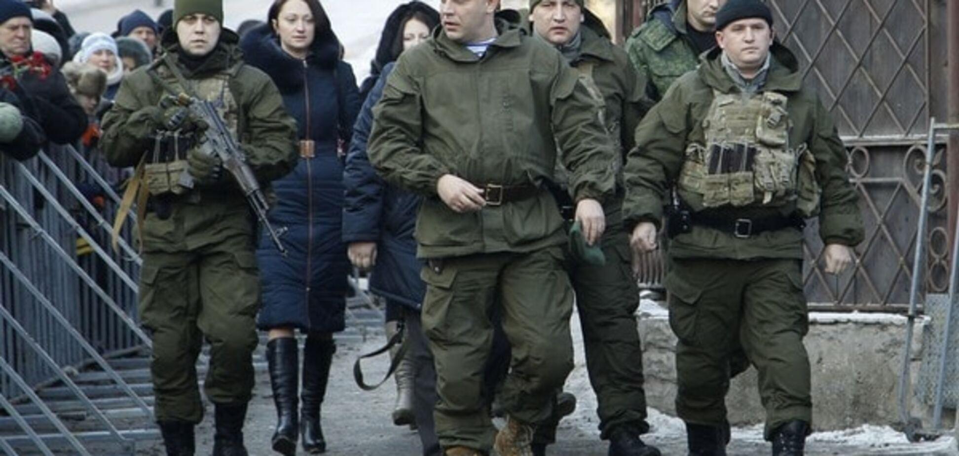 Тимчук: ватажок 'ДНР' обзавівся полком особистої охорони