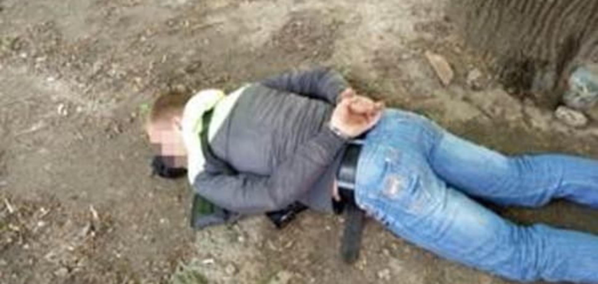 На Полтавщині затримали торговця зброєю і боєприпасами