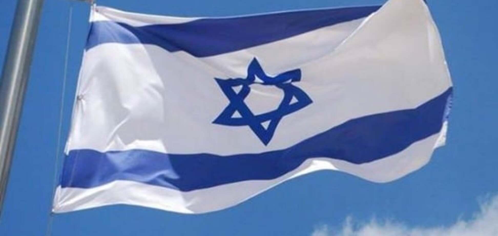 У Києві невідомі спалили прапор Ізраїлю