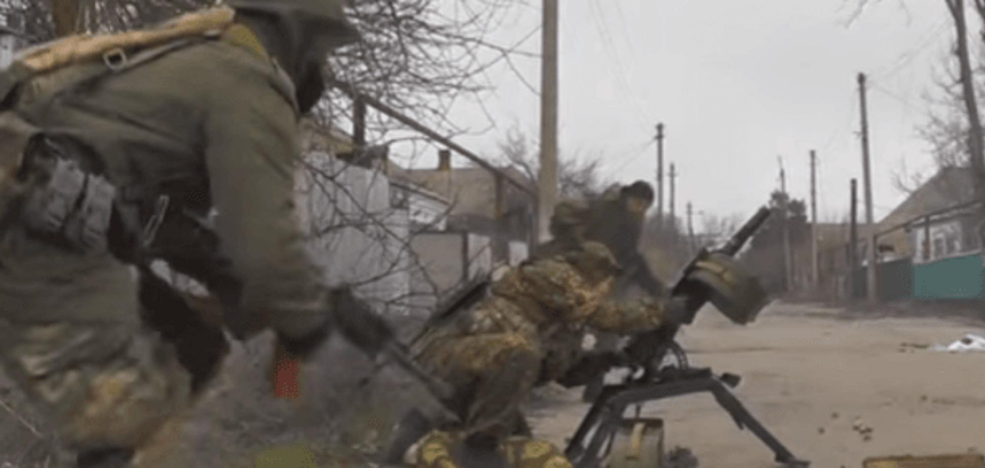З'явилося відео, як батальйон 'Аратта' наводить жах на терористів з гранатомета