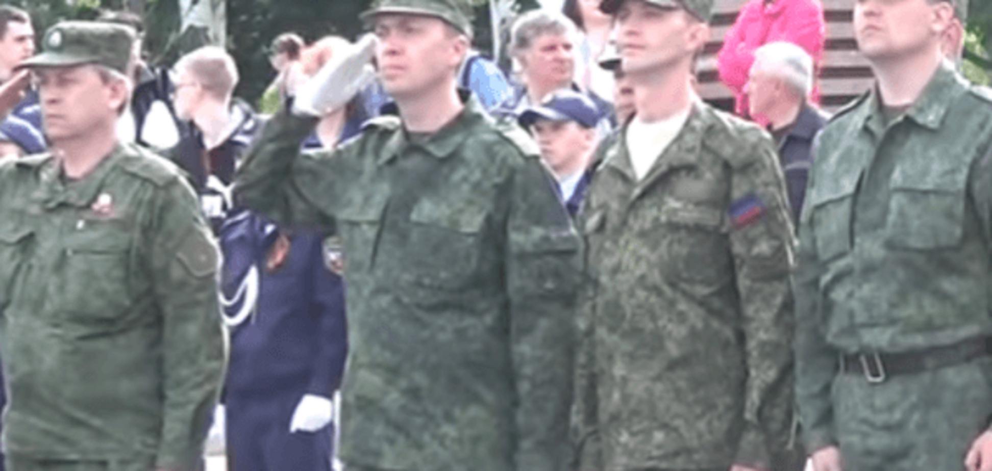 Усі в різнобій: у 'ДНР' помарширували перед 9 Травня