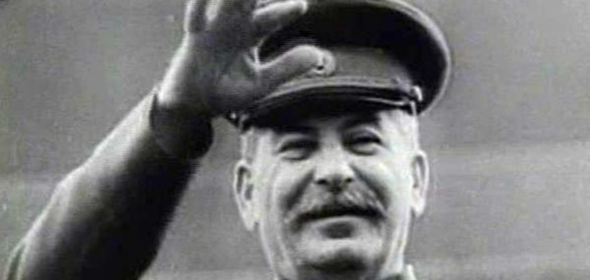 Сталин усы
