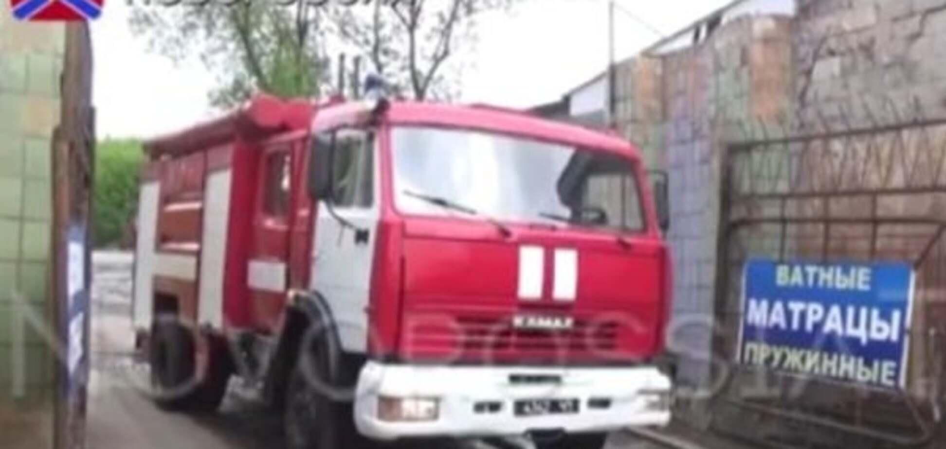 Згоріли ватяні матраци: у 'ДНР' виявили пожежну техніку з Росії