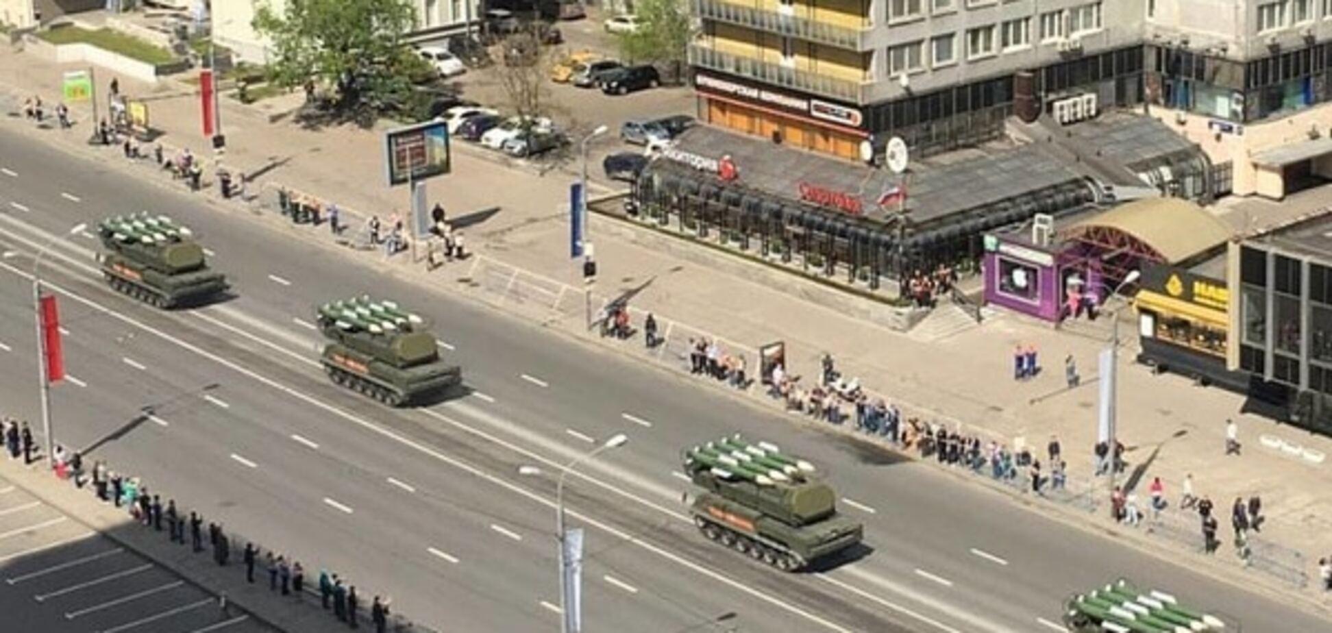 У Росії на репетиції параду до 9 травня помітили 'Буки'