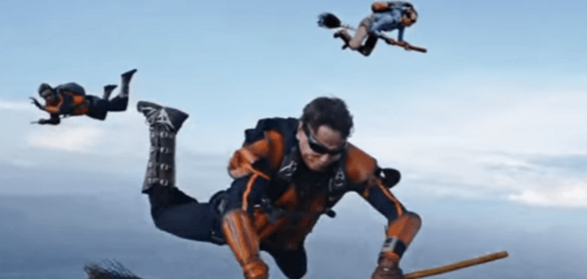 Чотири кілометри над землею: фанати Гаррі Потера зіграли у квідич