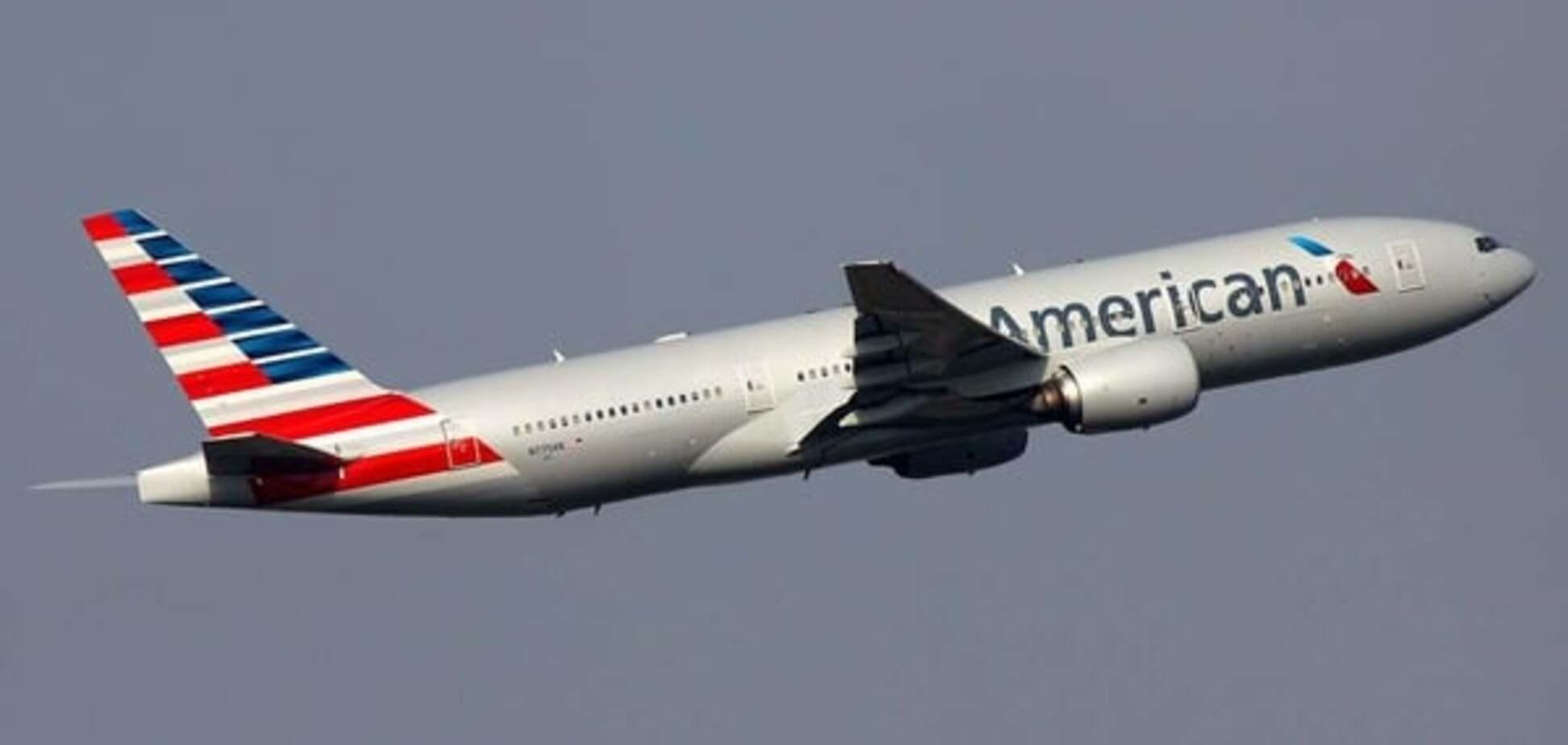Авиарейс в США