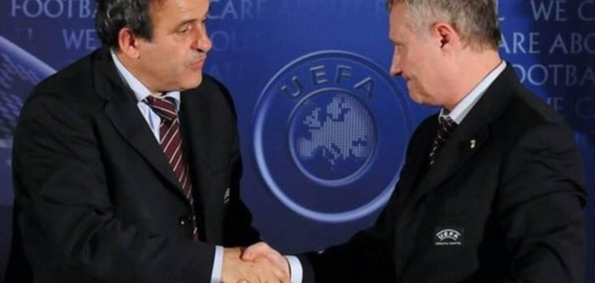 Змова й інтриги: Суркіс пояснив відставку Платіні з поста президента УЄФА