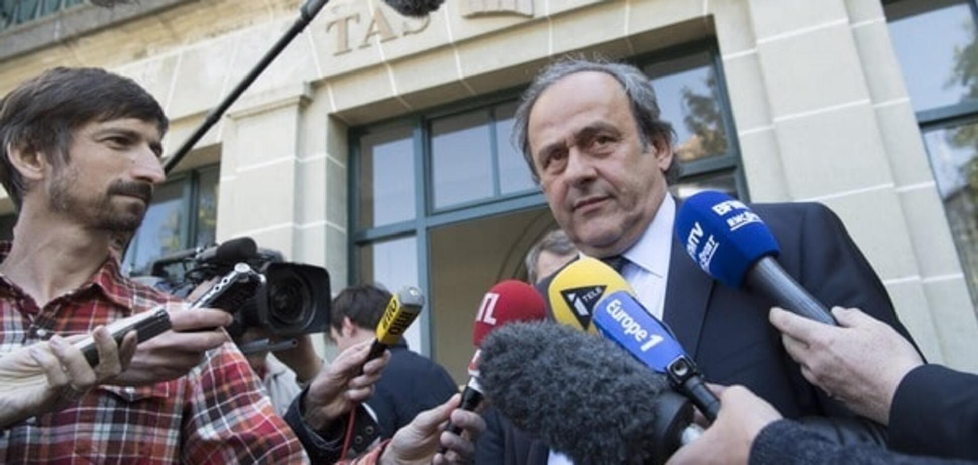 Офіційно: президент УЄФА Мішель Платіні подав у відставку