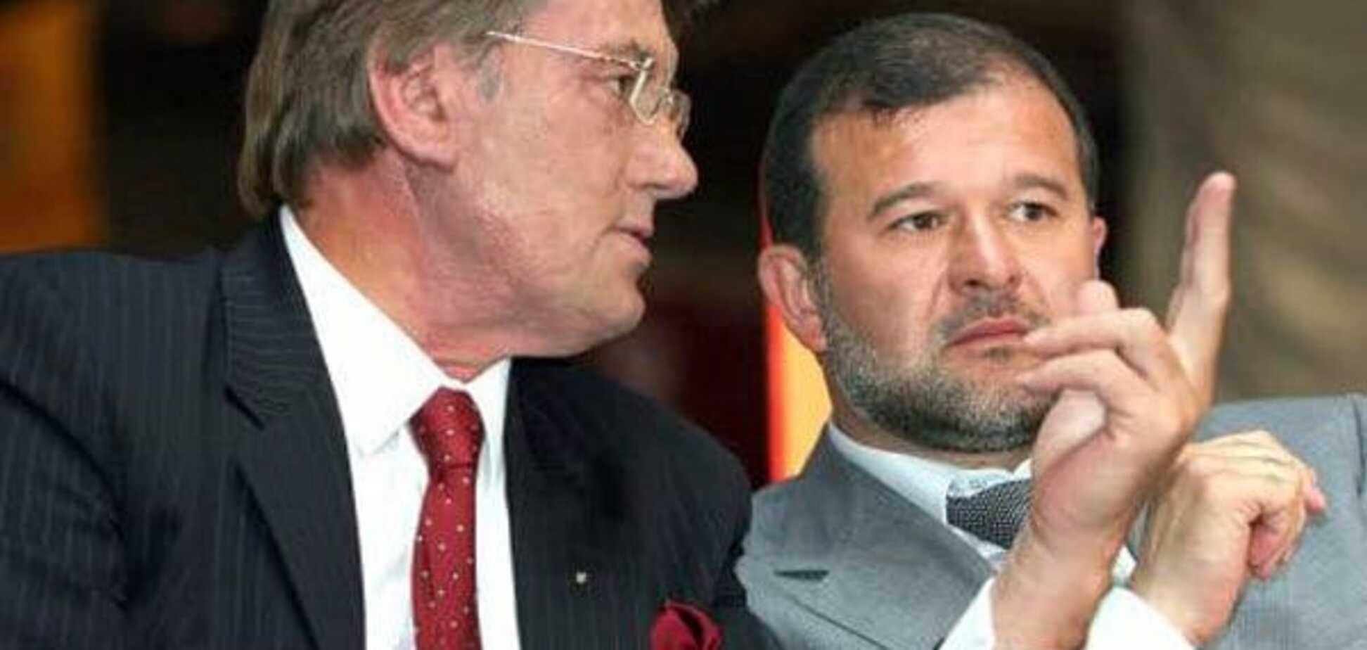 Віктор Ющенко і Віктор Балога