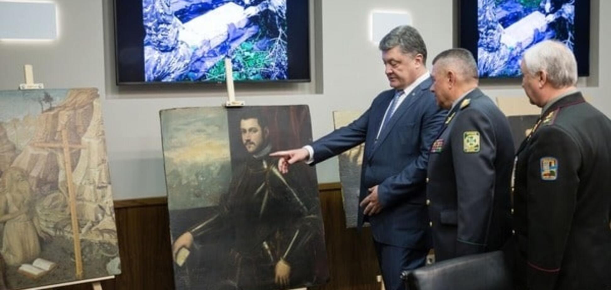 Порошенко і картини з музею Верони