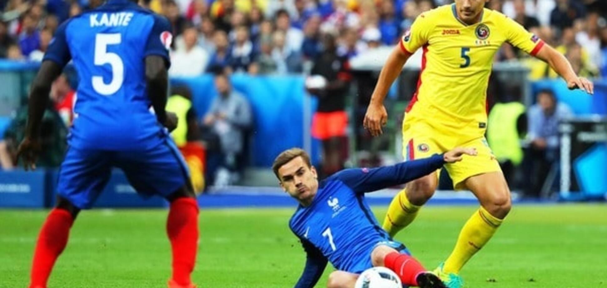 Франція - Румунія
