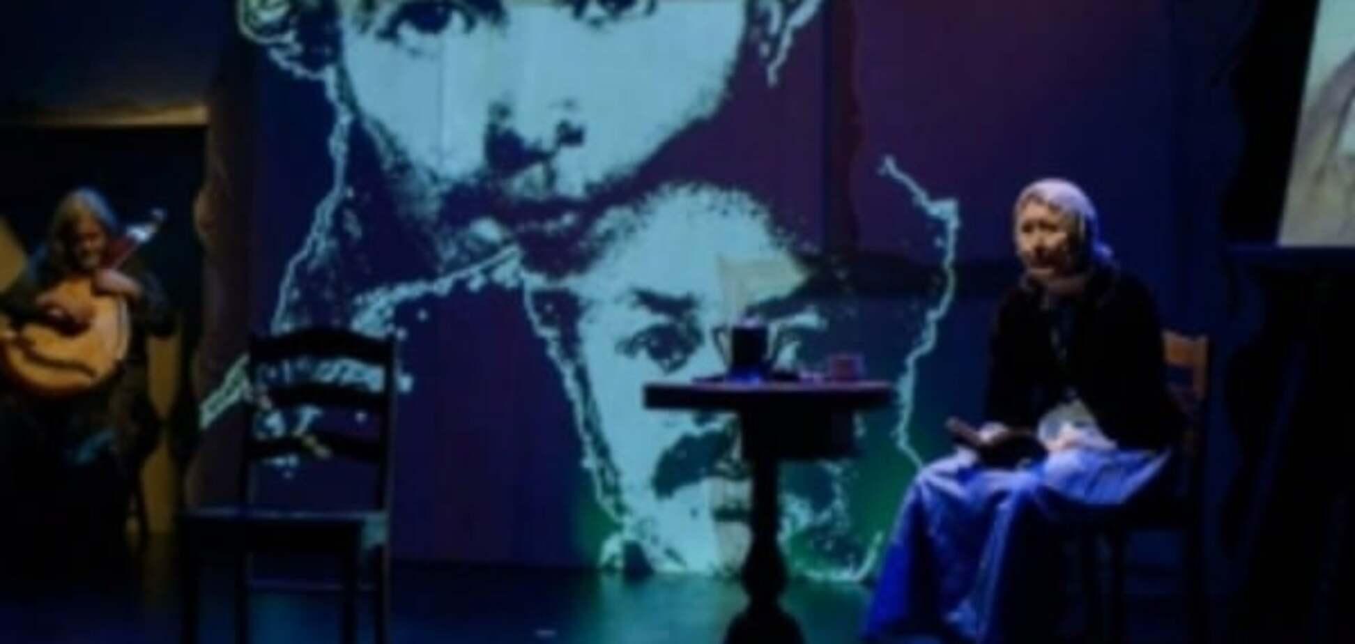 В США показали спектакль о Тарасе Шевченко