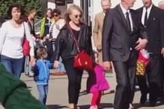 Алла Пугачева с детьми в Юрмале