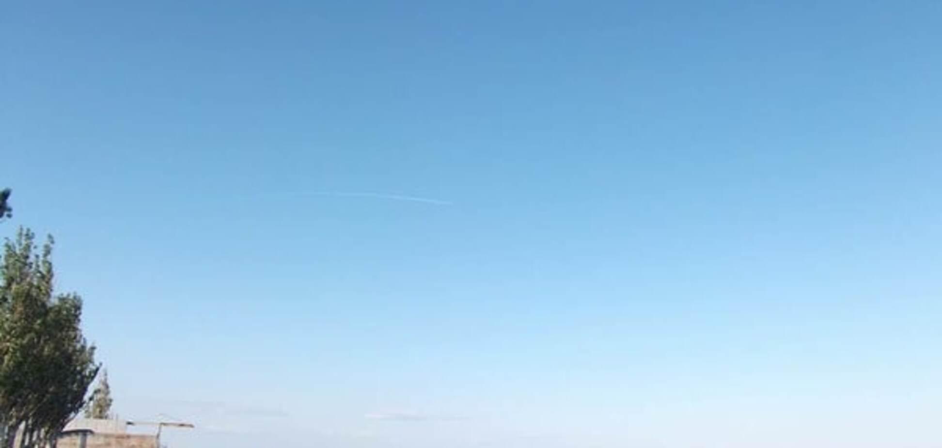 Небо над Донбассом