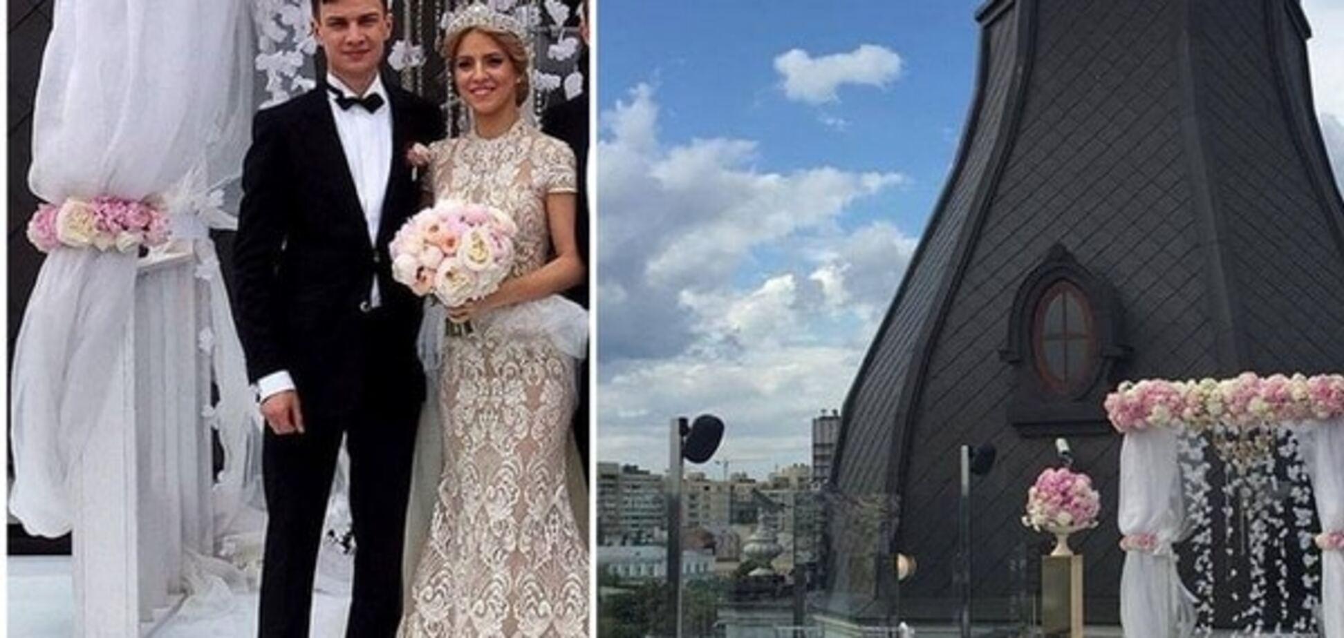 Гелетей одружив сина на даху готелю російського олігарха. Джерело: Instagram