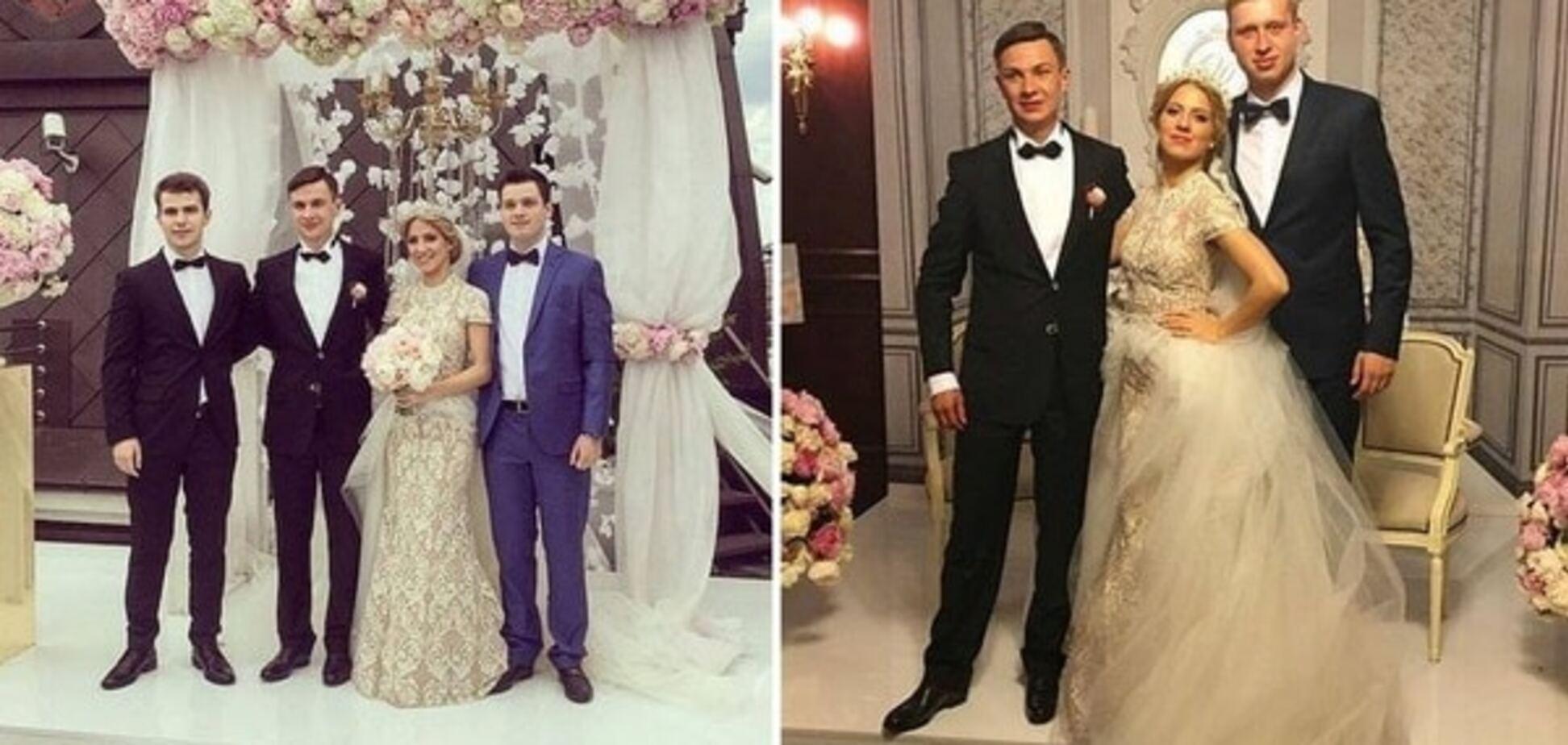 Гелетей-молодший одружився на даху готелю російського олігарха. Джерело: instagram.com