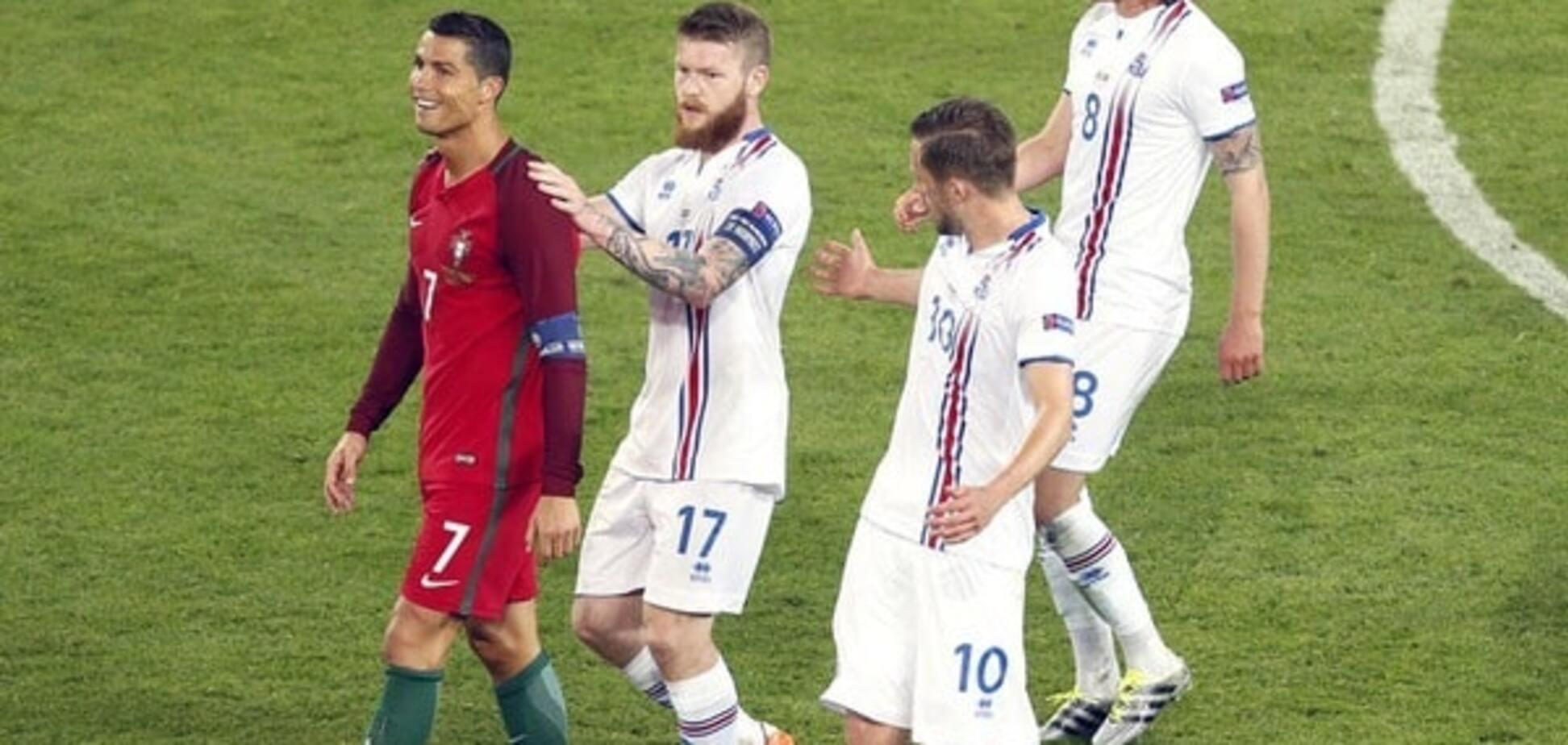 Португалия - Исландия - 1:1