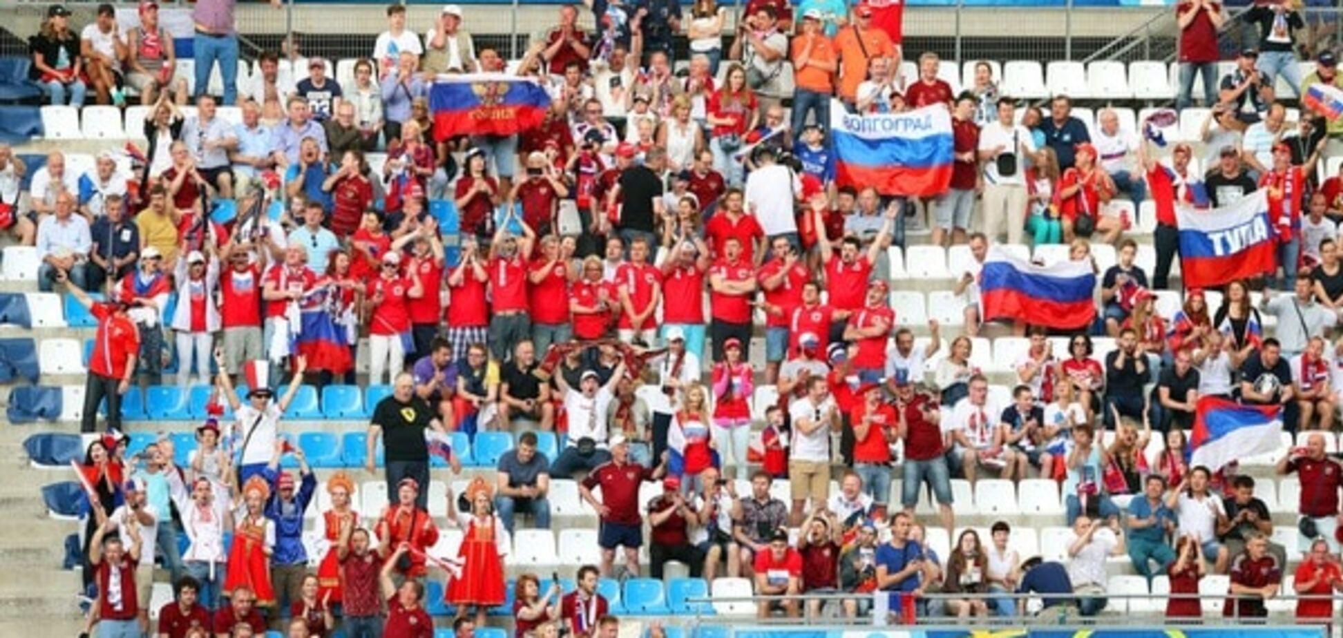Англия - Россия драка