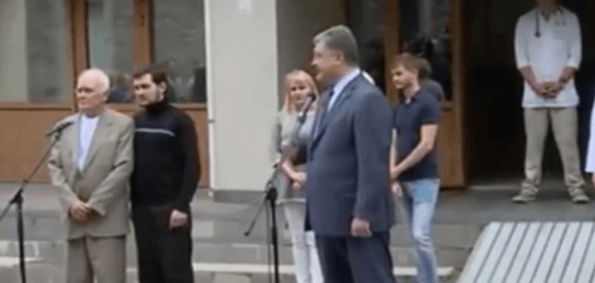 Освобождение Солошенко и Афанасьева