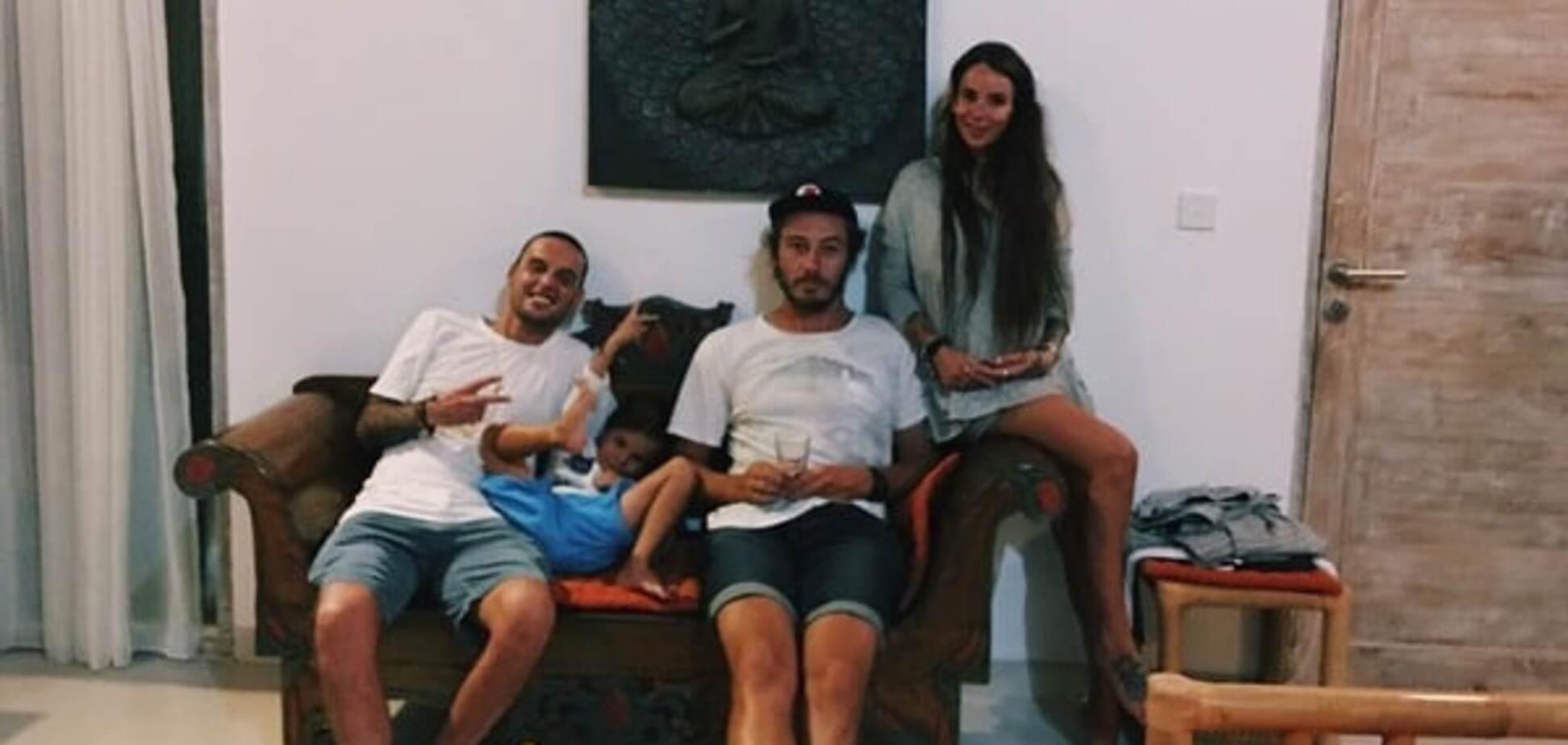 Гуф, Айза с семьей