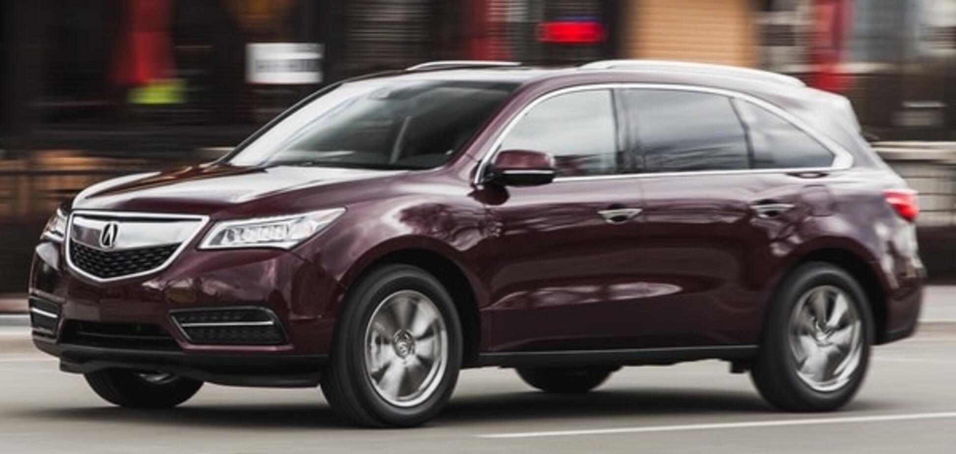 Только Acura: в Киеве 'прописалась' группировка, угоняющая японские авто