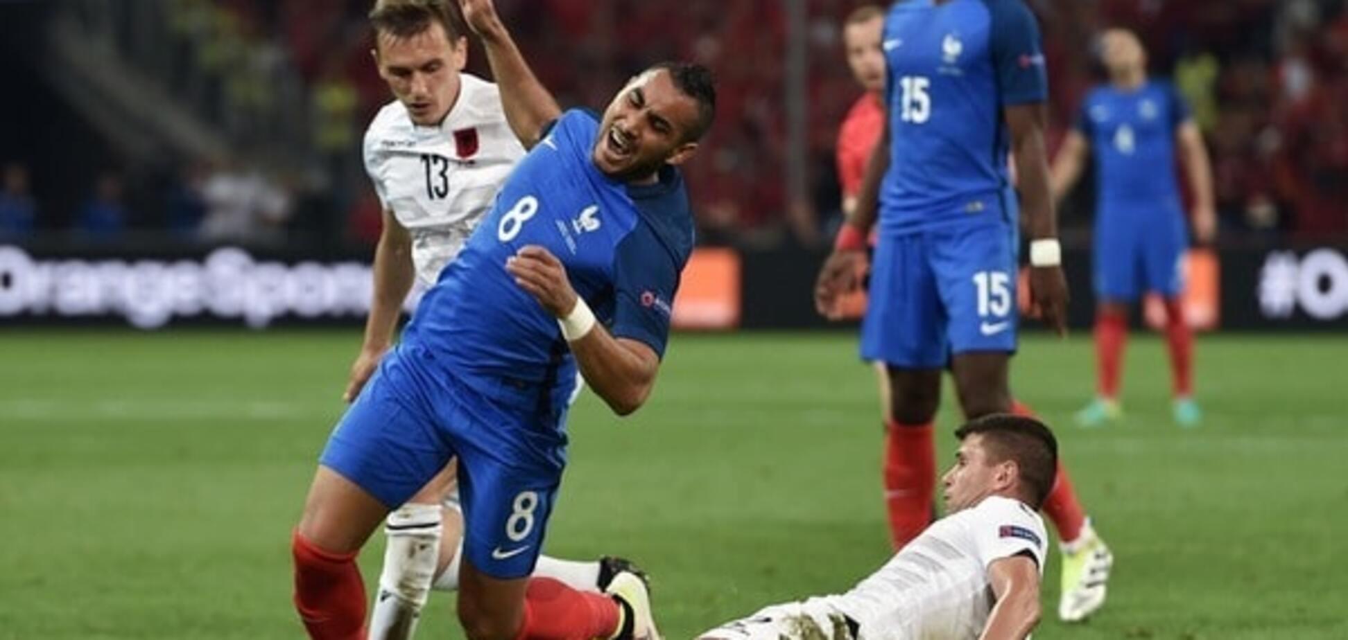 Франция - Албания - 1:0