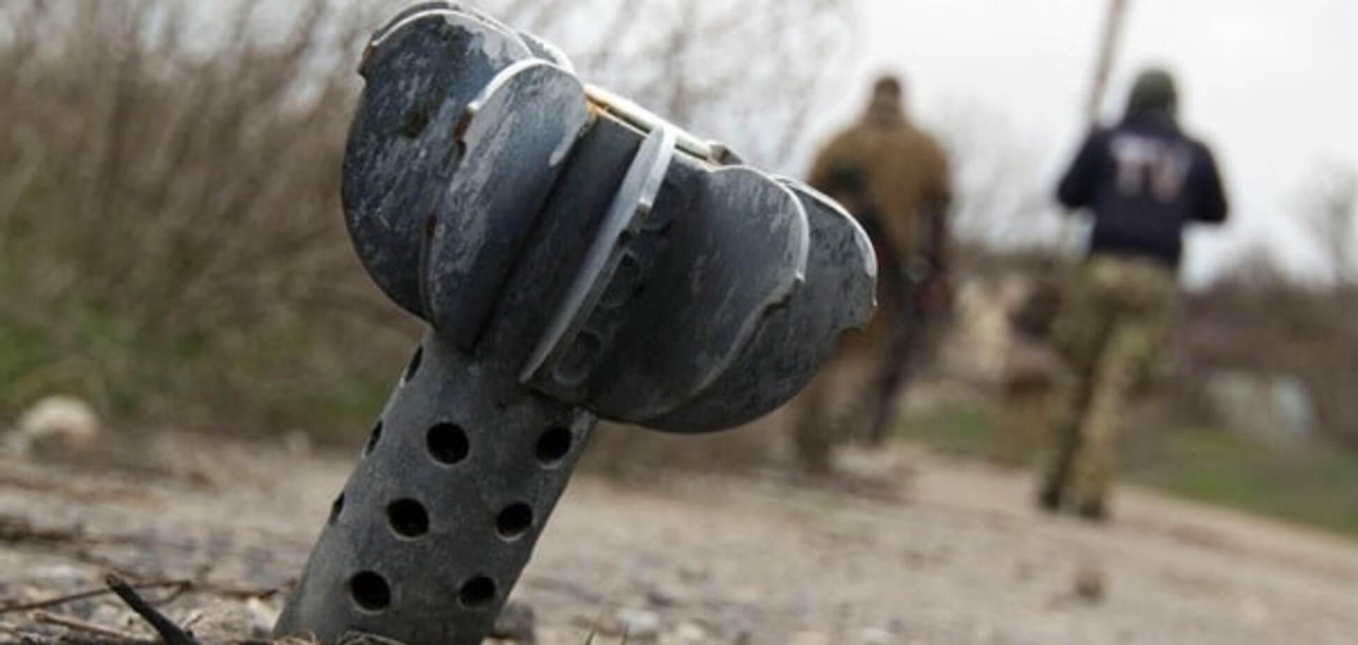 Обстрел украинских военных