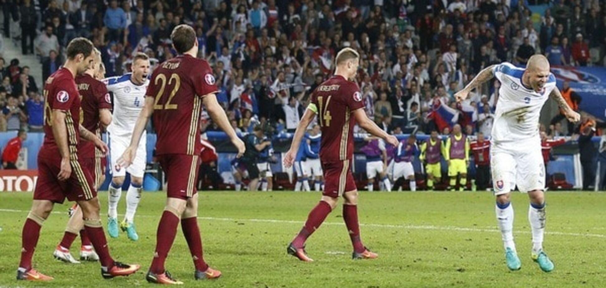 Россия - Словакия Евро-2016