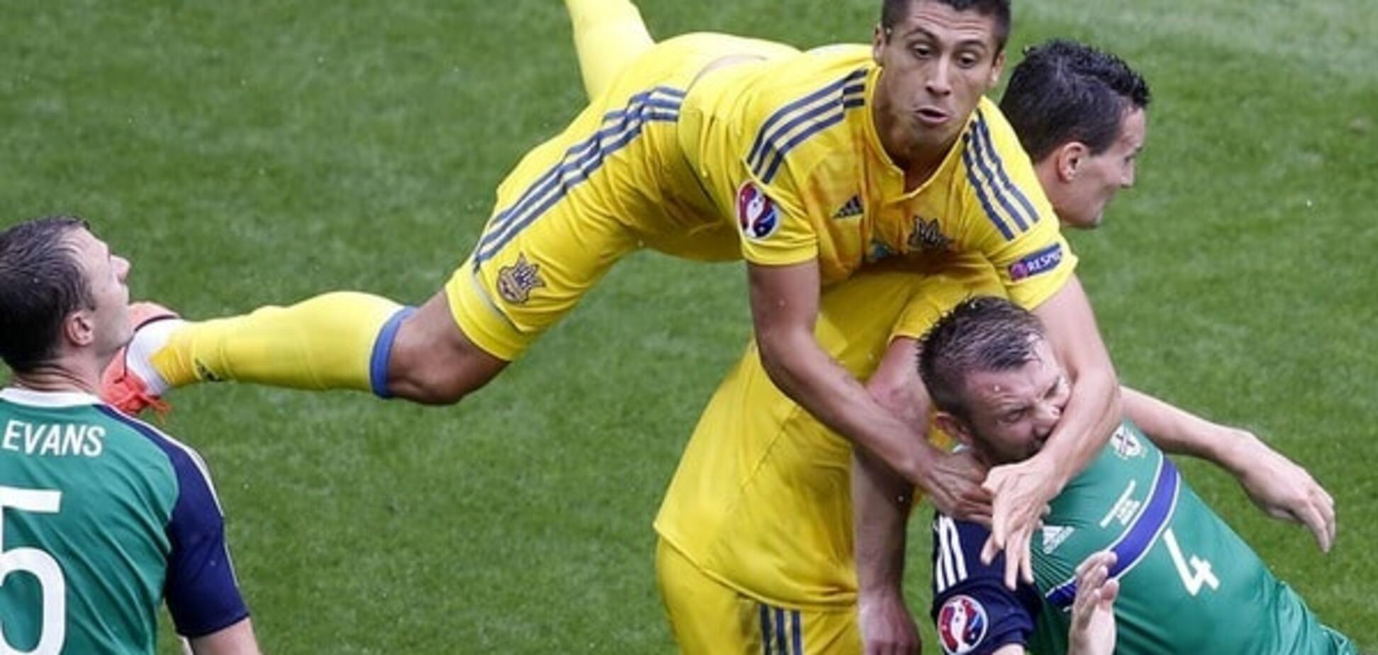 Євро-2016. Україна сенсаційно програла Північній Ірландії