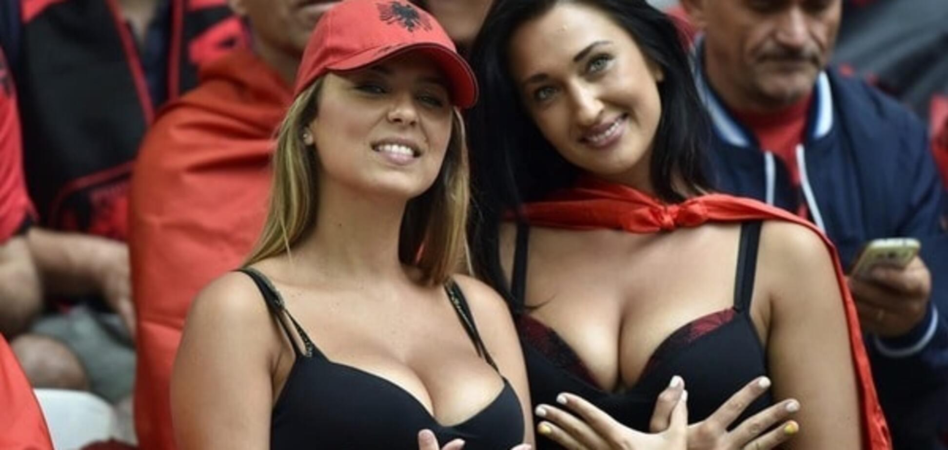 Фанатки Евро 2016