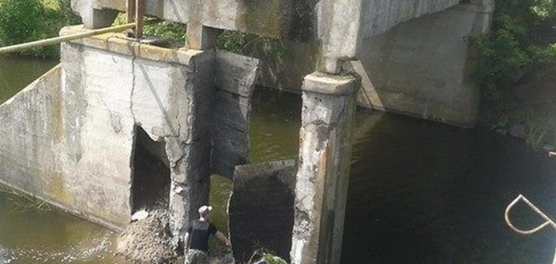 мост в Денишах