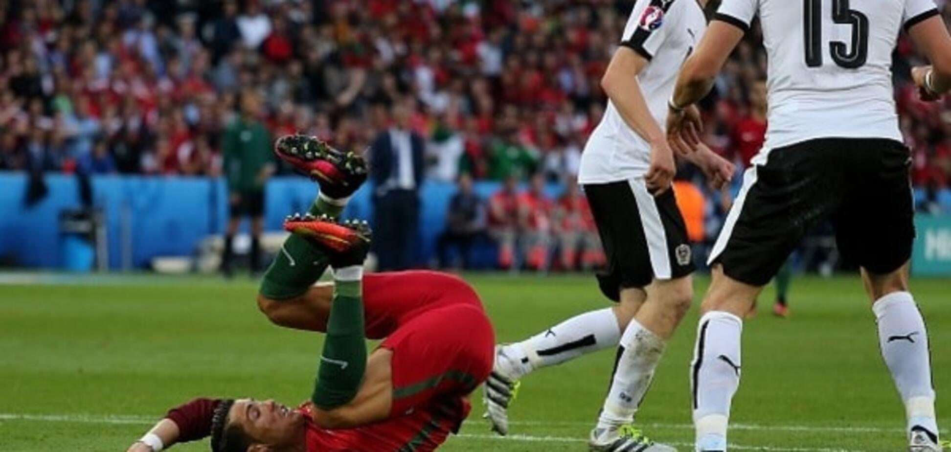 Євро-2016. Португалія з ляпом Роналду не змогла обіграти Австрію