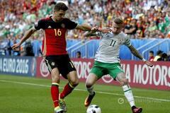 Євро-2016. Бельгія - Ірландія: огляд матчу