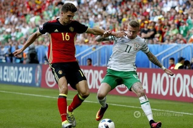 применения счет матча ирландия бельгия должно