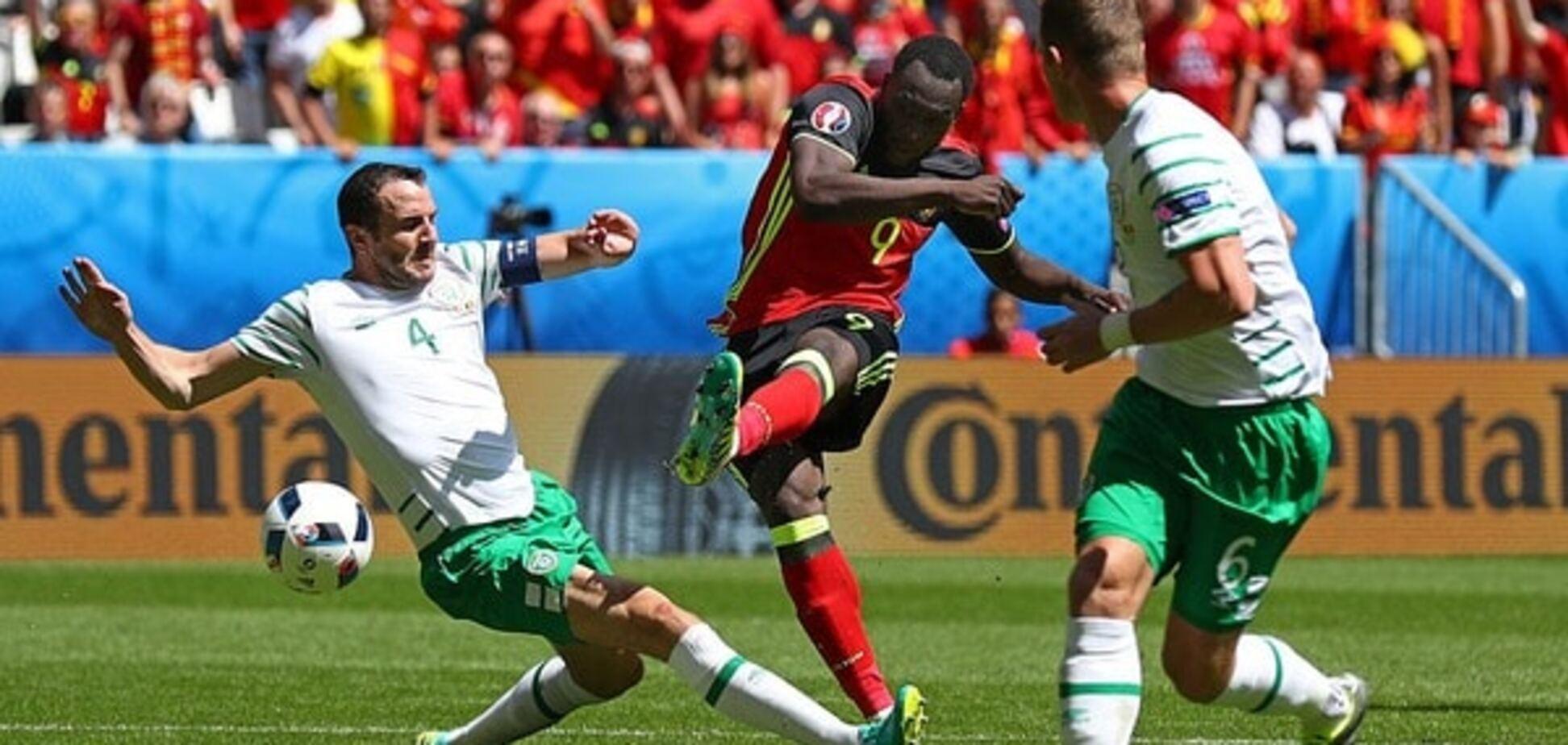 Евро-2016. Бельгия устроила погром Ирландии