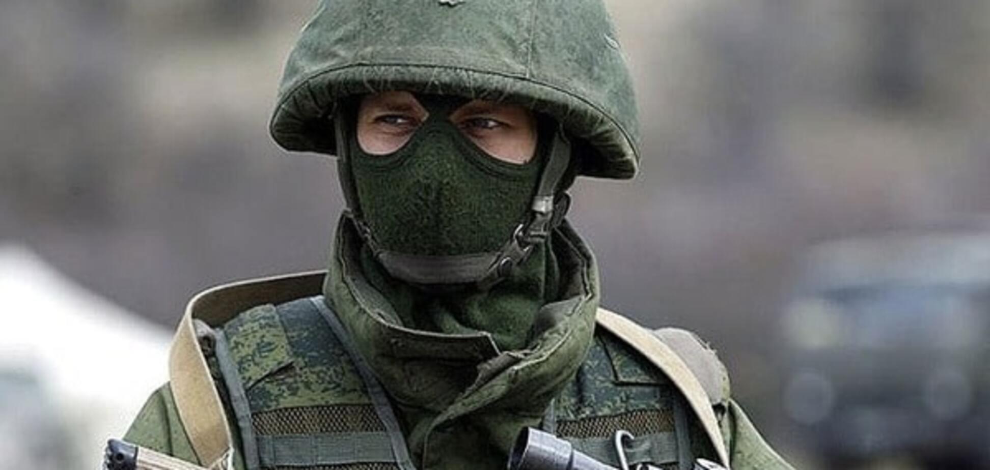 \'Зеленые человечки\' в Крыму