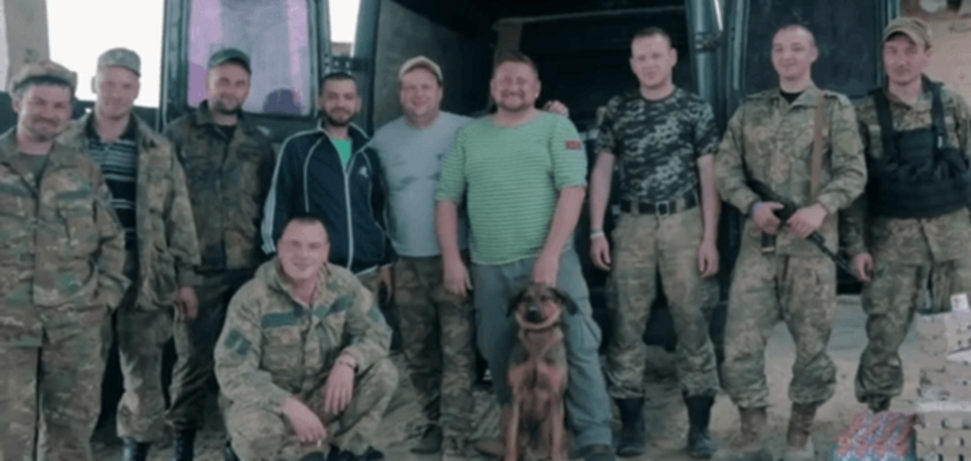 ТІК сняли патриотичный клип на Донбассе
