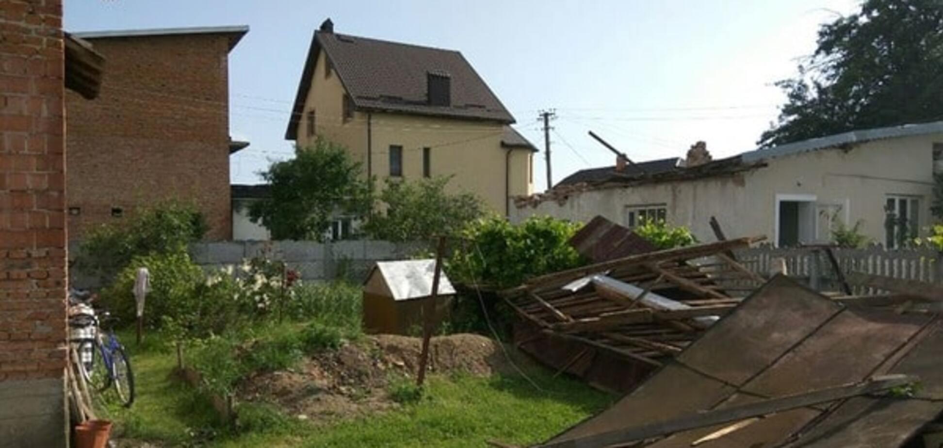 На Прикарпатье обрушилась буря