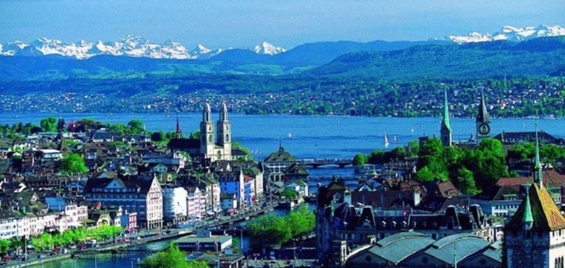 Швейцарская экономика не выбирает Европу?