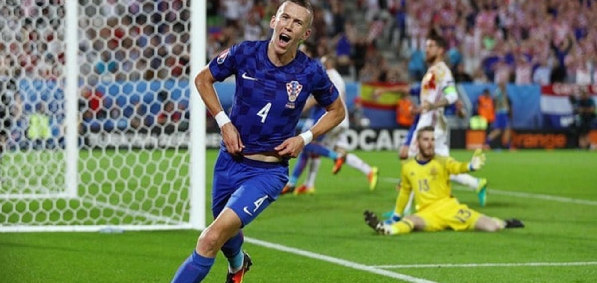 Хорватия – Испания счет