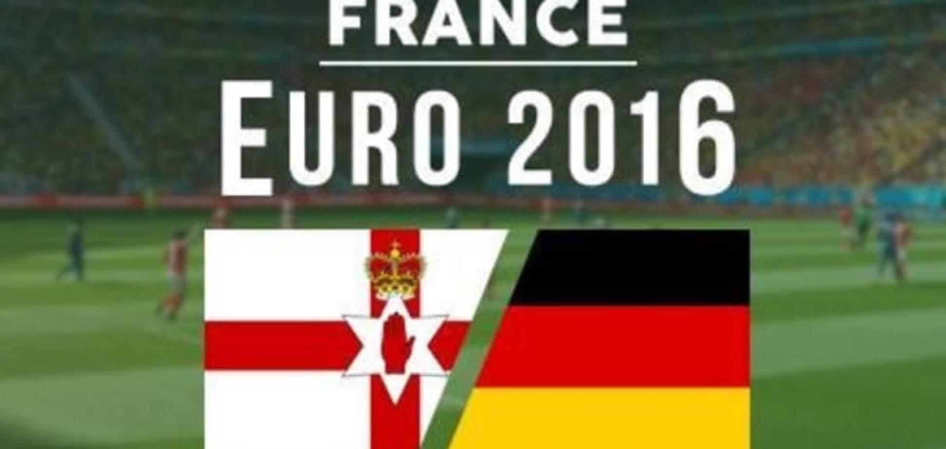 Північна Ірландія - Німеччина Євро-2016