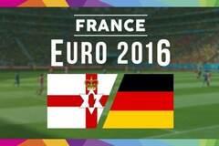 Северная Ирландия - Германия евро2016