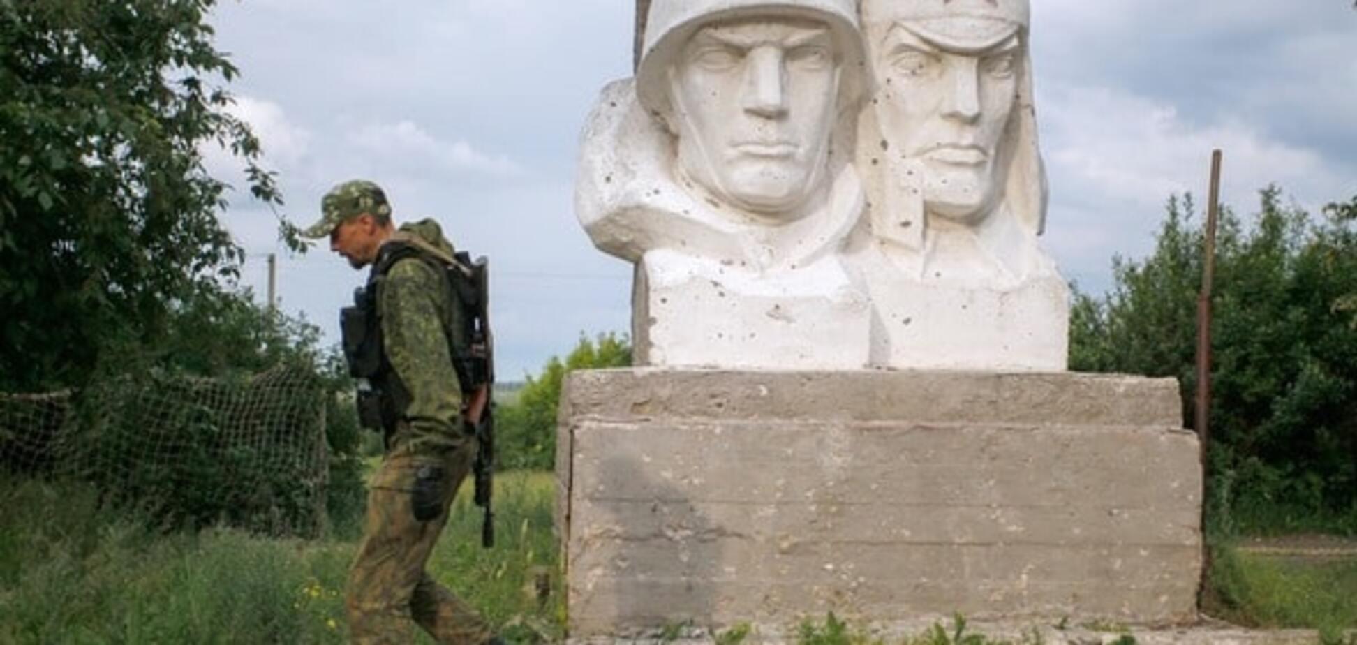 Террорист на Донбассе