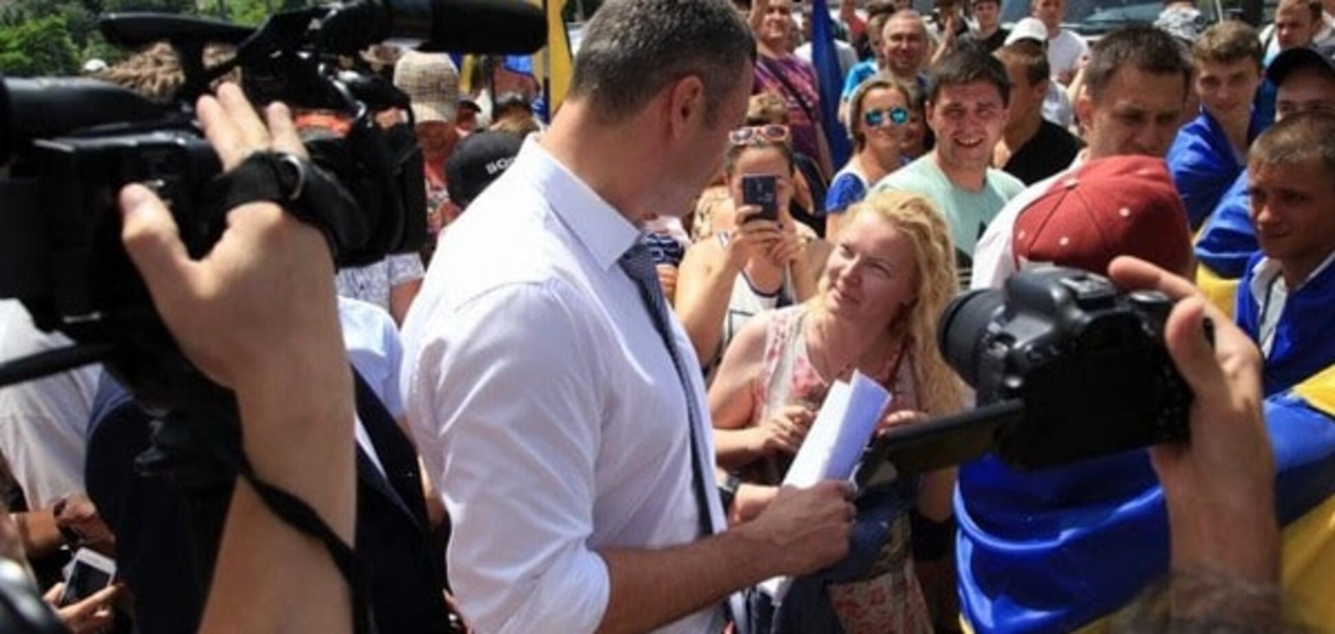 СМИ: в Одессе Виталий Кличко был категорически против выступления Труханова на муниципальном форуме