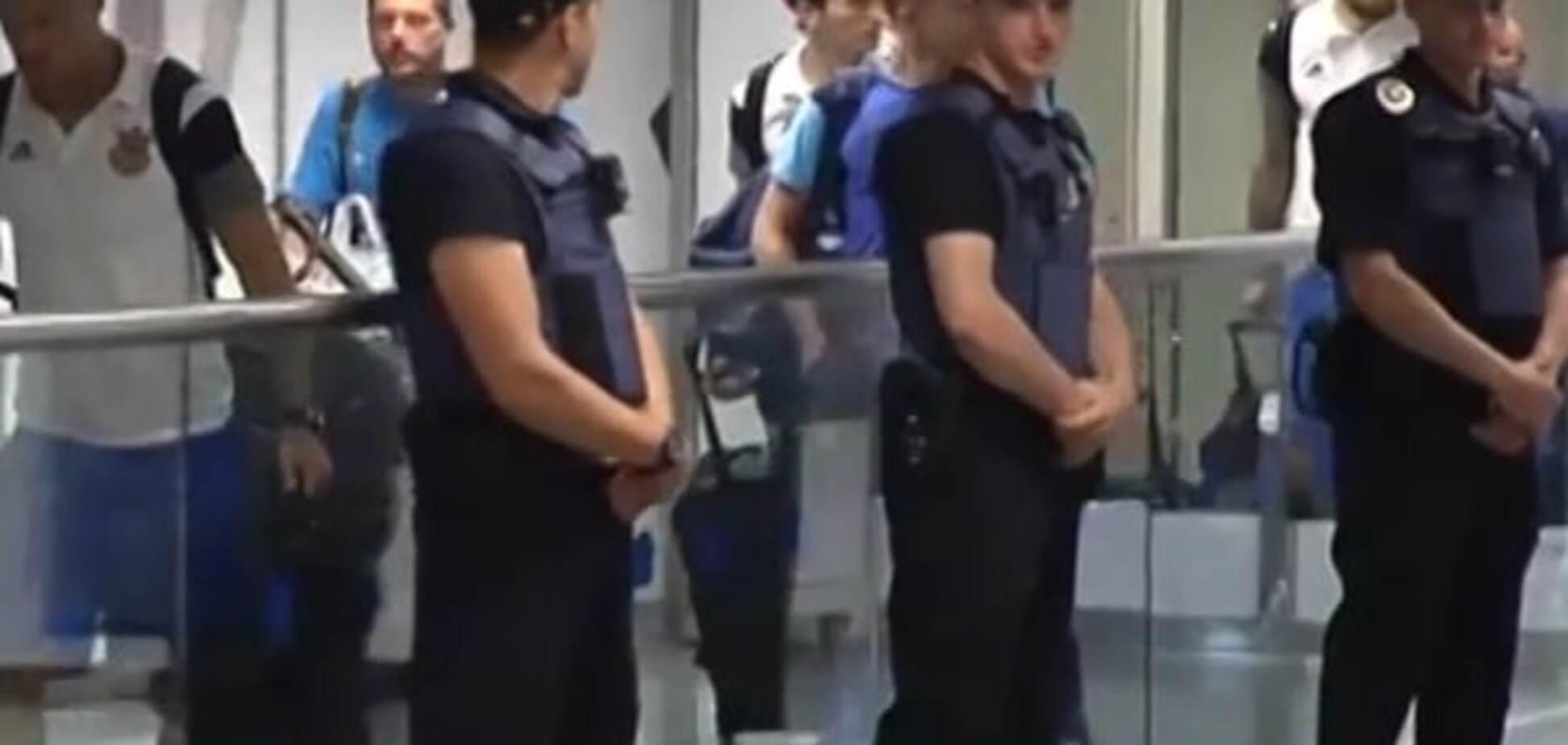 Сборная Украины прилетела в Киев