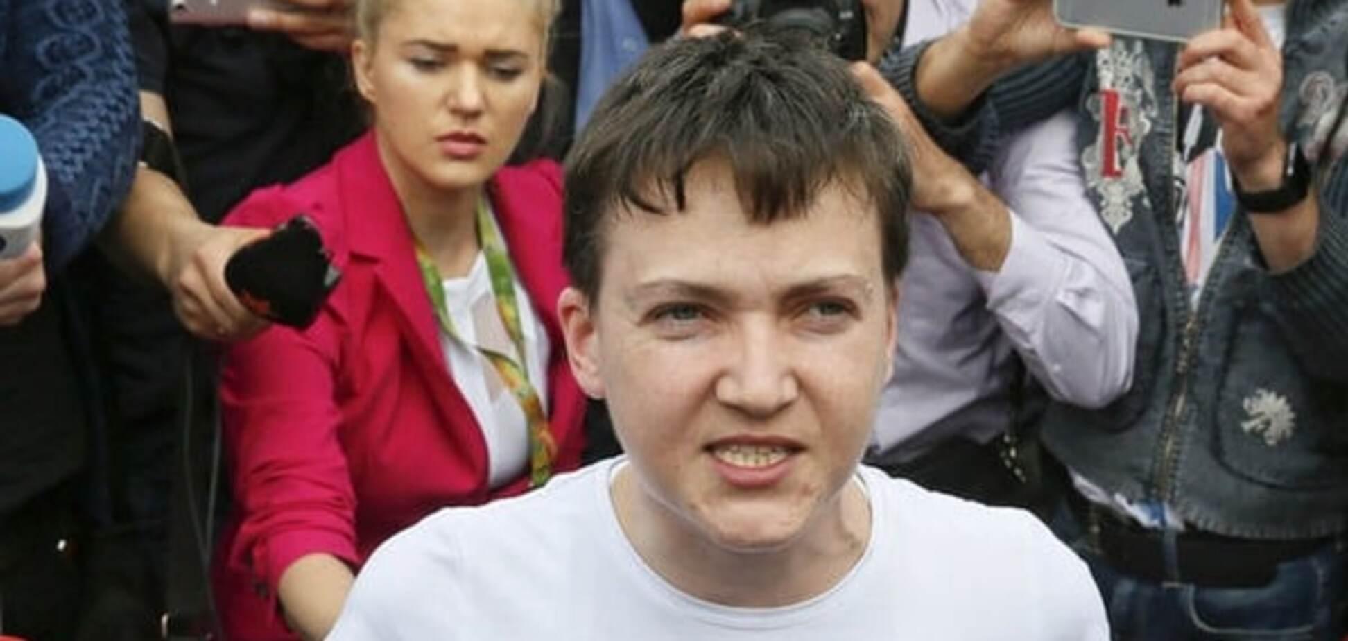Савченко. Природний ідіотизм чи банальний кріт?